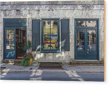 The Streets Of Charleston Wood Print