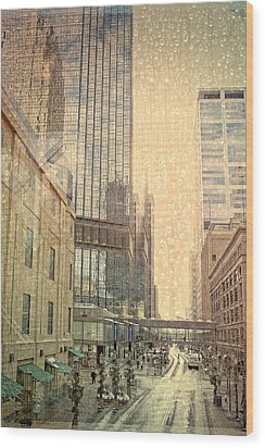 The Streets Of Minneapolis Wood Print by Susan Stone