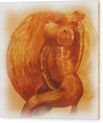 The Sun Also Shines Wood Print by Shelley Bain