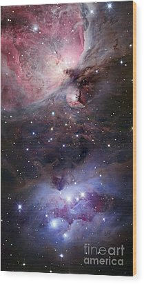 The Sword Of Orion Wood Print by Robert Gendler