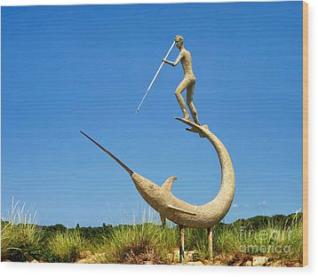 Wood Print featuring the photograph The Swordfish Harpooner by Mark Miller