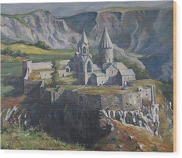 The Tatev Monastery Wood Print by Tigran Ghulyan