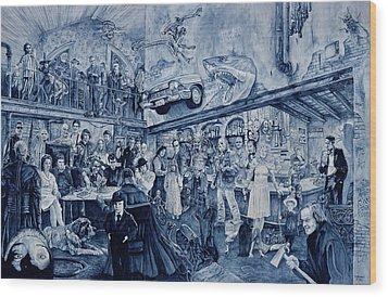 the Terrible Tavern Wood Print