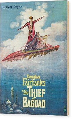 The Thief Of Bagdad,  Douglas Wood Print by Everett