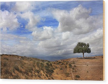 The Tree Of Wisdom Wood Print