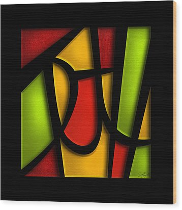 The Truth - Abstract Wood Print by Shevon Johnson