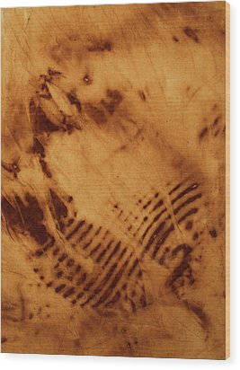 The Tulip Wood Print by Cynthia Powell