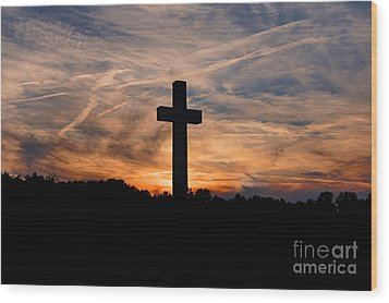 The Ultimate Sacrifice Wood Print by Benanne Stiens