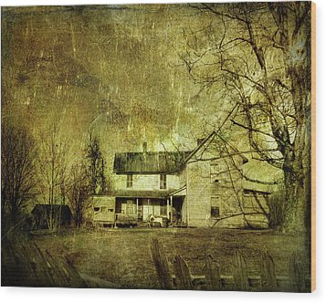 The Uninvited Wood Print by Mark Allen
