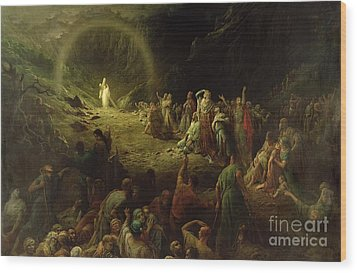 The Valley Of Tears Wood Print by Gustave Dore