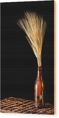 The Vase Wood Print by JC Findley