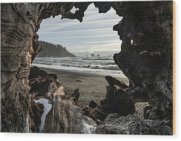 The View From Within Wood Print