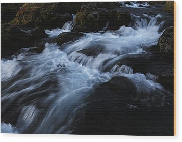 The Waters Of Kirkjufell Wood Print