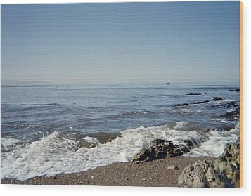 The Waves Of Undeconstruction Wood Print by Susanne Awbrey