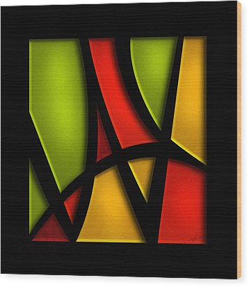 The Way - Abstract Wood Print by Shevon Johnson