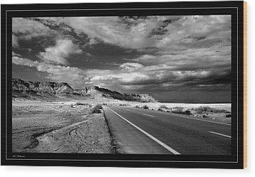 Wood Print featuring the photograph The Way To... by Arik Baltinester