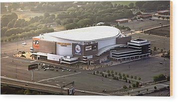 The Wells Fargo Center Wood Print by Bill Cannon