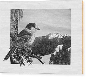 The Whiskeyjack Wood Print by Logan Parsons