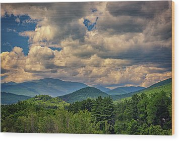 Wood Print featuring the photograph The White Mountains by Rick Berk
