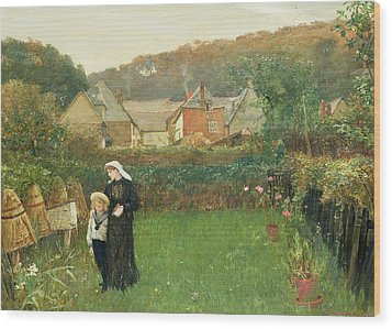 The Widow Wood Print by Charles Napier Hemy