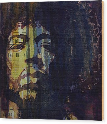 The Wind Cries Mary Reprise  Wood Print by Paul Lovering