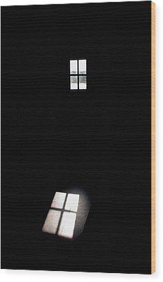 The Window Wood Print by Jouko Lehto