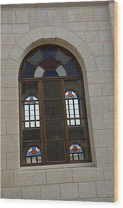 The Windows Of Jerusalem-1 Wood Print by Alex Kantor