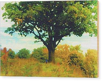 The Witness Tree Wood Print