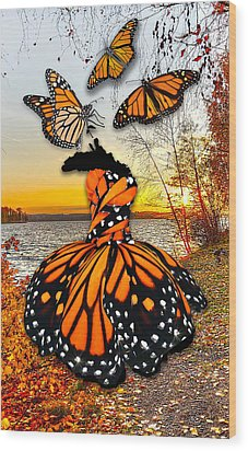 Wood Print featuring the mixed media The Wonder Of You by Marvin Blaine