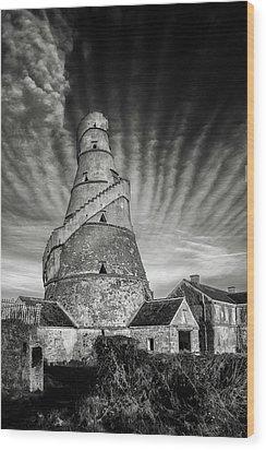 The Wonderful Irish Barn Wood Print