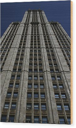 The Woolworth Building Wood Print by Christopher Kirby