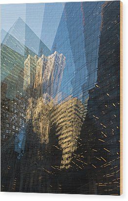 Wood Print featuring the photograph The World Keeps Turning by Alex Lapidus