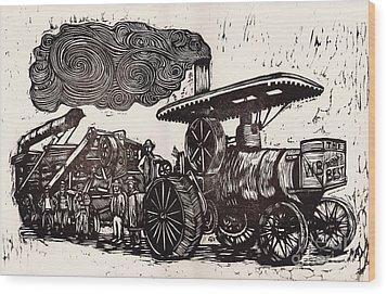 The World's Best Wood Print by Mathew Luebbert