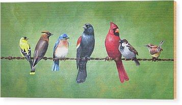 The Yardbirds Wood Print