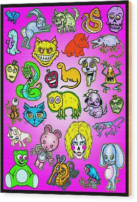The Zoo Wood Print by Christopher Capozzi