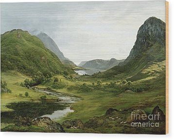 Thirlmere Wood Print by John Glover