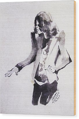 This Is - This Is It Wood Print by Hitomi Osanai