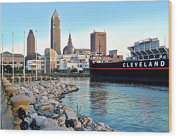 This Is Cleveland Wood Print