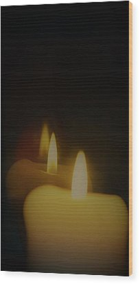 This Little Light Of Mine Wood Print by John Glass