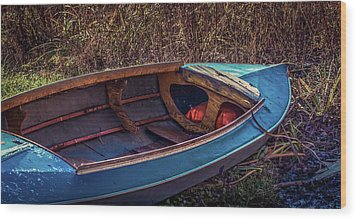 This Old Boat Wood Print