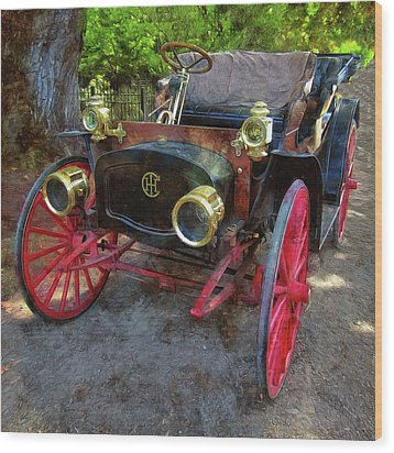 Wood Print featuring the photograph This Old Car by Thom Zehrfeld