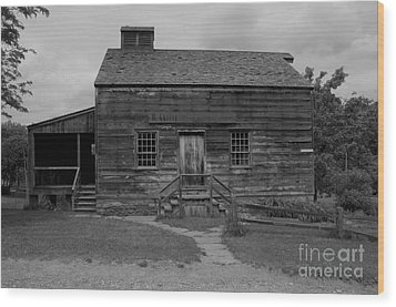 This Old House Wood Print by Kathleen Struckle