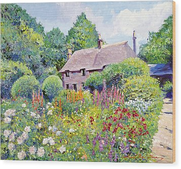 Thomas Hardy House Wood Print by David Lloyd Glover