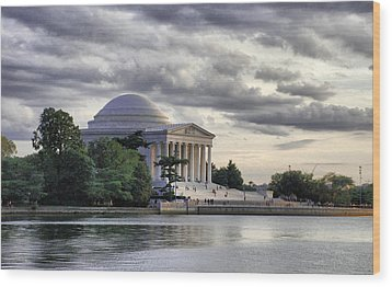 Thomas Jefferson Memorial Wood Print by Gene Sizemore