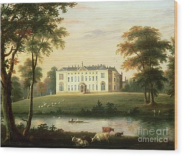 Thorp Perrow Near Snape In Yorkshire Wood Print by English School