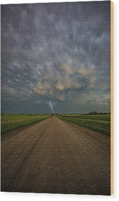 Wood Print featuring the photograph Thor's Chariot  by Aaron J Groen
