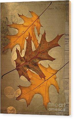 Three Wood Print by Jan Bickerton
