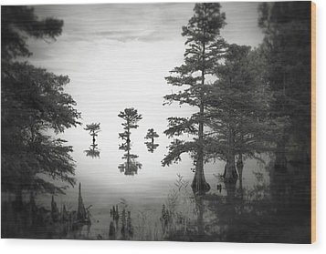 Wood Print featuring the photograph Three Little Brothers by Eduard Moldoveanu