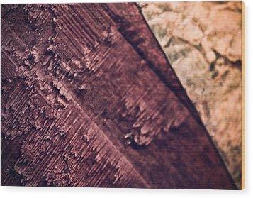 Three Stage Wood Print by Ryan Kelly