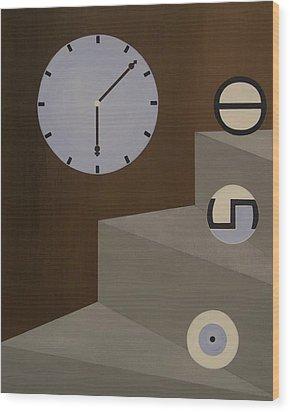 Three Stages Of Life Wood Print by Sandy Bostelman